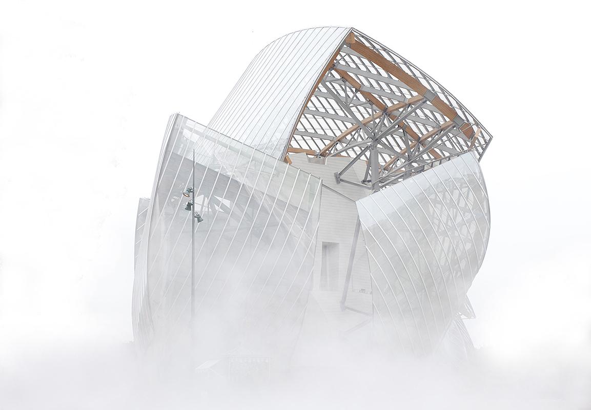 Fondation Louis Vuitton pour la Création - Architecte Frank Gehry - 28/10/2014 - Photo non libre de droit - contacter Olivier Panier des Touches (+33 6 63 76 33 41) avant toute publication