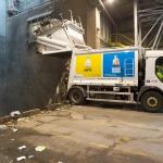 Hall de déchargement & fosse (OM / DIB) - déchets ménagers et assimilés - alcea (centre de traitement et de valorisation des déchets ménagers de Nantes Métropole) - Nantes - 22/07/2014