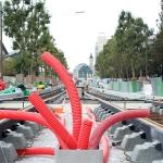 Route des Petits Ponts - Travaux sur la ligne du tramway T3 - Paris