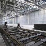 Construction d'une chaine de montage dans l'ancienne usine automobile Moskvitch pour le compte de Avtoframos (coentreprise de Renault et de la ville de Moscou) - Moscou