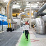 Salle des machines - Centre Nucléaire de Production d'Electricité du Blayais (CNPE)
