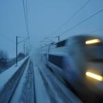 TGV sur la LGV sud-est
