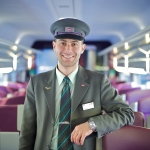 Flavien Canale, Contrôleur dans le TGV Munich-Paris - Gare de l'Est - Paris