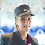 Christelle Marie - chef de bord - SNCF - Saint Malo