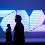Bertand Lavier, Empress of India, 2005 - Fondation Louis Vuitton - Architecte Frank Gehry  - Photo non libre de droit - contacter Olivier Panier des Touches (+33 6 63 76 33 41) avant toute publication