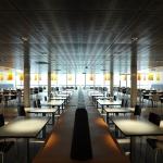 Cafétéria du siège du Fret SNCF - Clichy